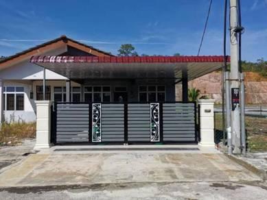 Single story terrace amanjaya zon kemboja (corner lot)