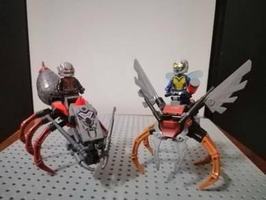Antman marvel Avengers Minifigures like Lego