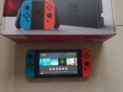 Nintendo Switch Neon Set With Digital Games