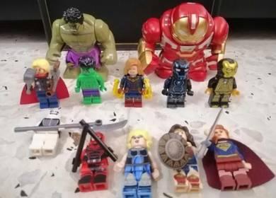 Marvel Avengers Minifigures like Lego
