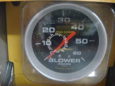 Autometer BLOWER meter oil filled