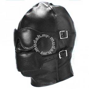 LB009 Leather Full Head Mask