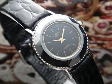 544) rado diastar vintage quartz ladies watch