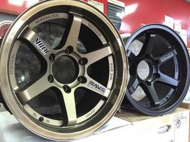 Sport Rim 4X4 Rays TE37X SL 16x8.5JJ For 4X4 Thai