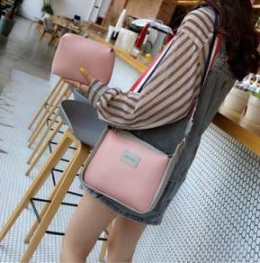 2in 1 pink slingbag
