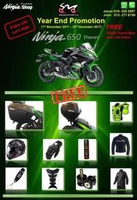 Kawasaki Ninja 650 ABS SE - Year End Promotion