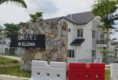 2 Sty House CORNER TTDI Grove Kajang NEAR PLAYGROUND 4 ROOM 4 TOILET