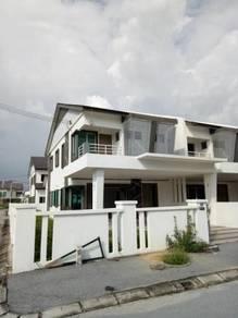 Double Storey Terrace Corner at Strand Park, Klebang, Ipoh