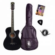 Beginner Guitar(Free Bag,Pick,Chord Book&Sticke)-1
