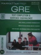 GRE Guide8: Text Completion & Sentence Equivalence