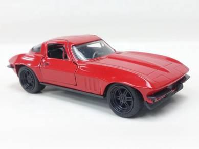 Chevy Corvette Fast 8 Diecast