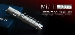 Klarus Mi7 Ti Titanium LED Flashlight