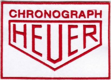 TAG Heuer Chronograph Auto F1 Car Motor Auto Patch
