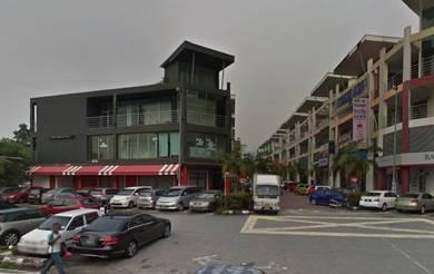 Pusat bandar rawang 3 storey corner shop below market rawang town