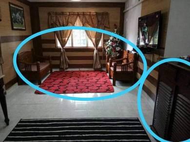 [ Renovated + Perabot + Lower Floor ]Flat Sek 7 Shah Alam