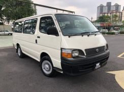2004 Toyota Hiace Window Van Diesel Full Aircond