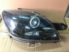 Toyota Vios 08 Projector Headlamp With Ring -Blk