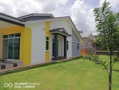 Semi-d, setingkat, 5 bilik, zero deposit, 100% loan, kluang, johor