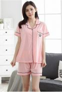 NightWear Short Sleeve Shirt & Short Pant S1032