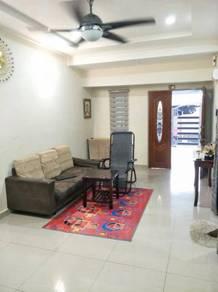 Wow !!! taman sri mawar single storey fully renovation for sales
