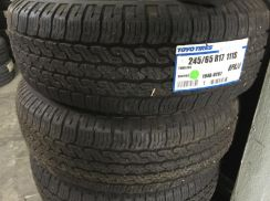 Toyo tyre 245/65/17 pc new 4x4