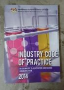 ICOP chemical classification& hazard communication