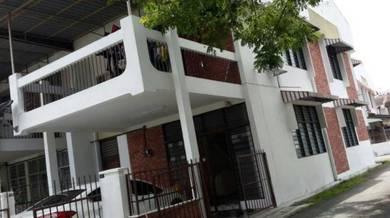 Sungai Dua 2 storey Terrace Corner House ,Penang