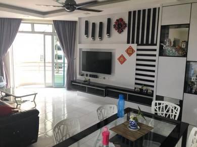 [Fully Furnished] Ocean Palm Condo Klebang 2R2B Tanjung Kling Melaka