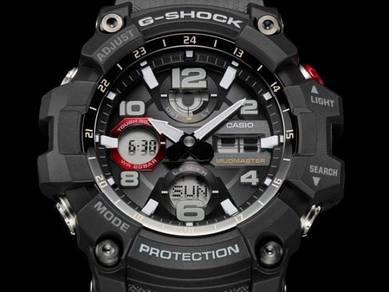 Casio G SHOCK SOLAR MUDMASTER GSG100-1A8-ORIGINAL