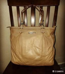 Shoulder/ Tote Bag Leather COACH Laguna