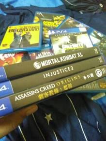 Ps4 games ac origins, mortal kombat, Injustice 2