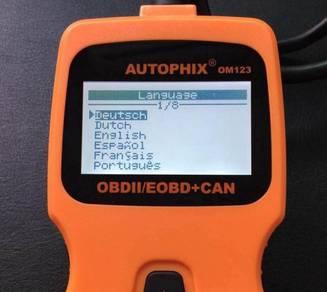 AUTOPHIX OM123 OBD Vehicle Diagnostic Tool
