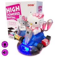 High Powered Karting Hello Kitty Car with Light