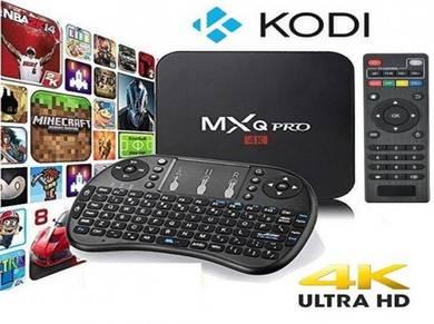 (BEST HD) Mx 4k pro android 7.1 tv box iptv