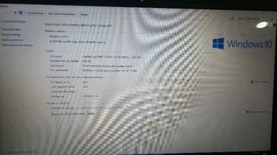 Laptop Dell upgrade window 10 (i-core 7)