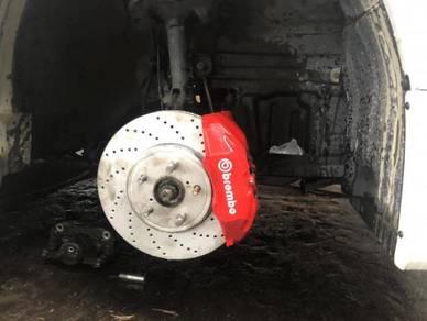 Toyota vellfire alphard 4pot original brake