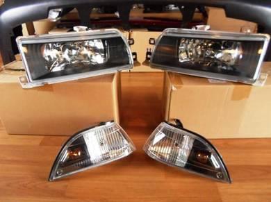 Toyota AE90 Or AE92 Crsytal Head Lamp Glass (Kaca)