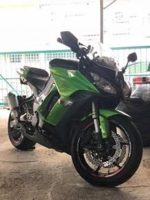 2011 Kawasaki Z1000XS Sport Exhaust