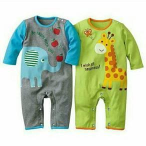 Sleepsuit Baju Tidur Baby Pyjamas Baju Baby Boy