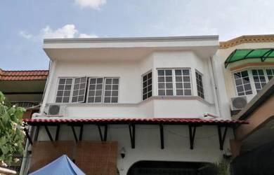 (EXTENDED FRONT AND BACK) 2 Storey Terrace Taman Maluri, Kuala Lumpur