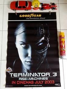 Poster Ori TERMINATOR 3 Limited Edition 2003 T-X