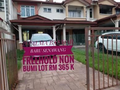Double storey terrace d'palma bandar baru senawang under market value