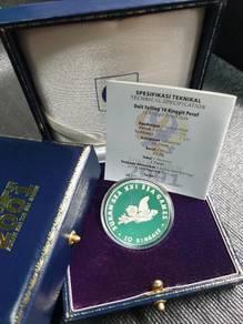 Sukan SEA XXI 2001 Silver Coin