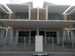 New Double Storey Lakeside Superlink house at Alma, Bukit Mertajam
