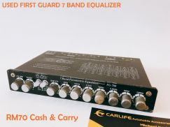 Used FIRST GUARD 7 Band Equalizer