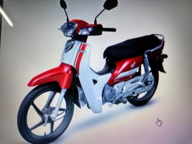 New Honda EX5 Fi plate no.BAMbee38