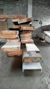 Beam pasang siap kayu terpakai