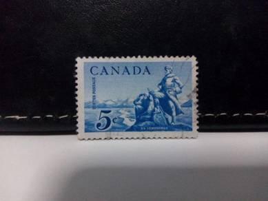 1958 Canada Stamp People Explorer