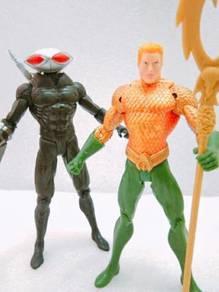 Dc Aquaman & Black Manta Set Figure Toys
