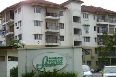 LOWER FLOOR > SERAYA Apartment near Cemara Pesona MRT Kajang Utama